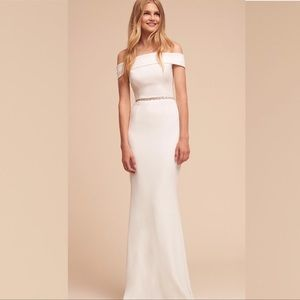 BHLDN Katie May Legacy Gown in Ivory NWOT